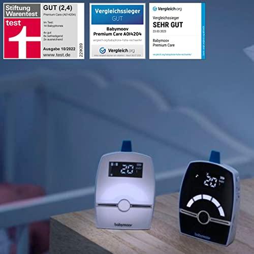 Babymoov Babyphone Premium Care, Digital Green Technology, 1400m Reichweite - 2
