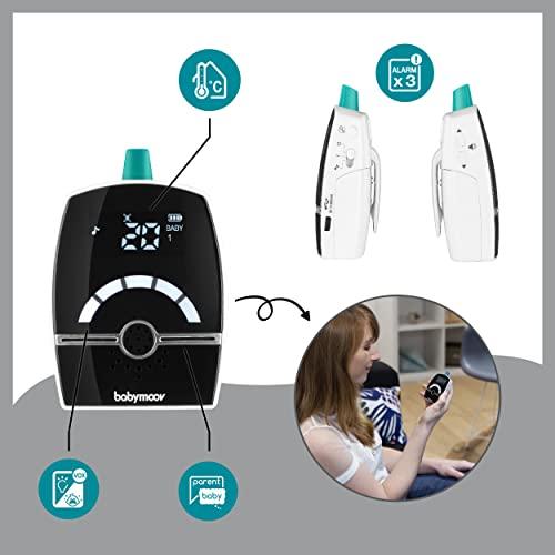 Babymoov Babyphone Premium Care, Digital Green Technology, 1400m Reichweite - 4