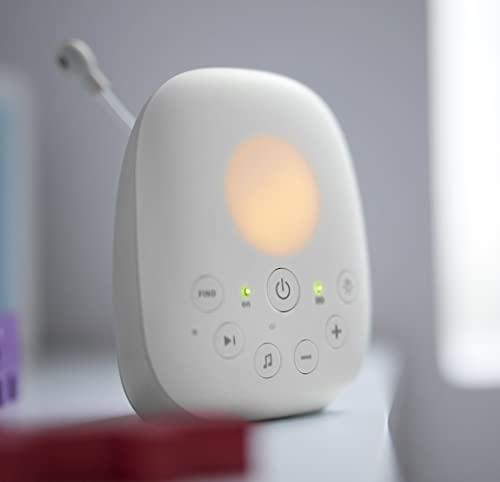 Philips Avent Audio-Babyphone SCD713/26, DECT-Technologie, Eco-Mode, 18 Std. Laufzeit, Gegensprechfunktion, Schlaflieder - 5
